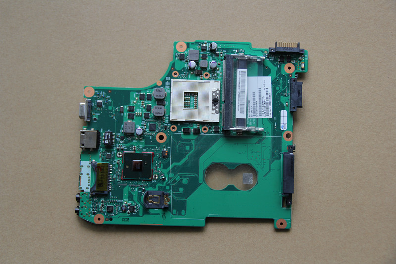 V000238010 For Toshiba Satellite C600 Laptop motherboard 6050A2357502-MB-A02-TI HM55 DDR3 fully tested work perfect 10203 1 for lenovo b560 laptop motherboard la56 mb 48 4jw06 011 hm55 ddr3 fully tested work perfect