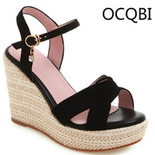 Womens Wedge Sandals Summer Casual Shoes Elevated Wedge Open Toe Party Shoes Beige Black Brown Platform Sandals womens peep toe wedge sandals shoes elevated wedge espadrille classic espadrille wedge sandals summer parties shoes