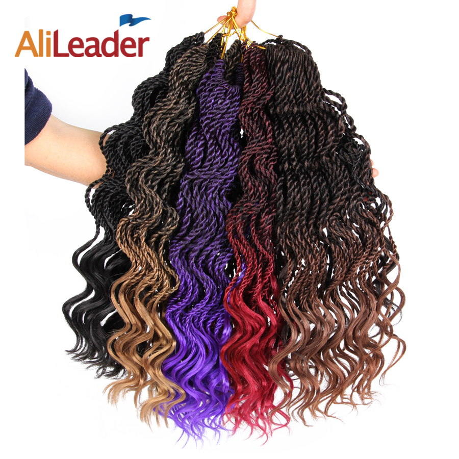 Hair Braids Feilimei Ombre Colored Crochet Hair Extensions Kanekalon Hair Synthetic Crochet Braids Ombre Jumbo Braiding Hair Bundles Good Reputation Over The World