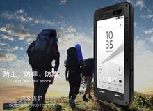 Для sony Xperia Z5 Premium love mei ударопрочный металлический алюминиевый чехол для Xperia Z5 Compact Three Proof love mei phone