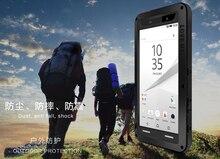 Pour Sony Xperia Z5 prime amour Mei coque aluminium anti choc couverture pour Xperia Z5 Compact trois imperméabilisation amour mei téléphone