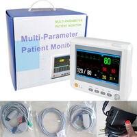 7Inch ICU CCU Modular Patient Monitor Multiparameter NIBP,Spo2, PR,ECG,RESP,TEMP