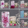 Soft TPU Phone Cases for Apple iPhone 6 Case Luxury 3D Relief Printing Flower Case Cover for iphone 6S 6 Back Silicon Covers Bag