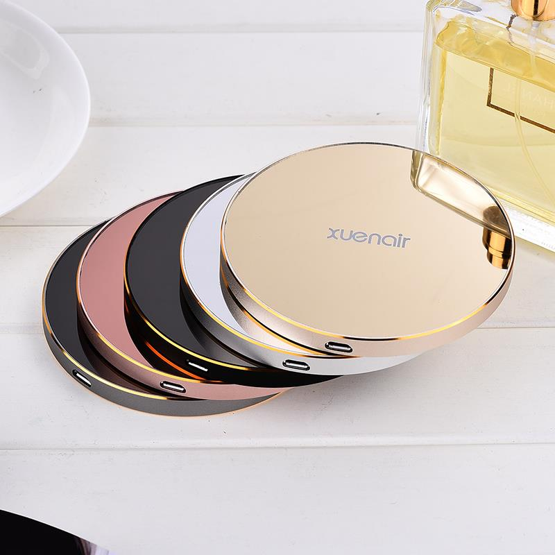 XSKEMP High Quality Mirror Wireless Charger For Samsung font b Galaxy b font font b S8