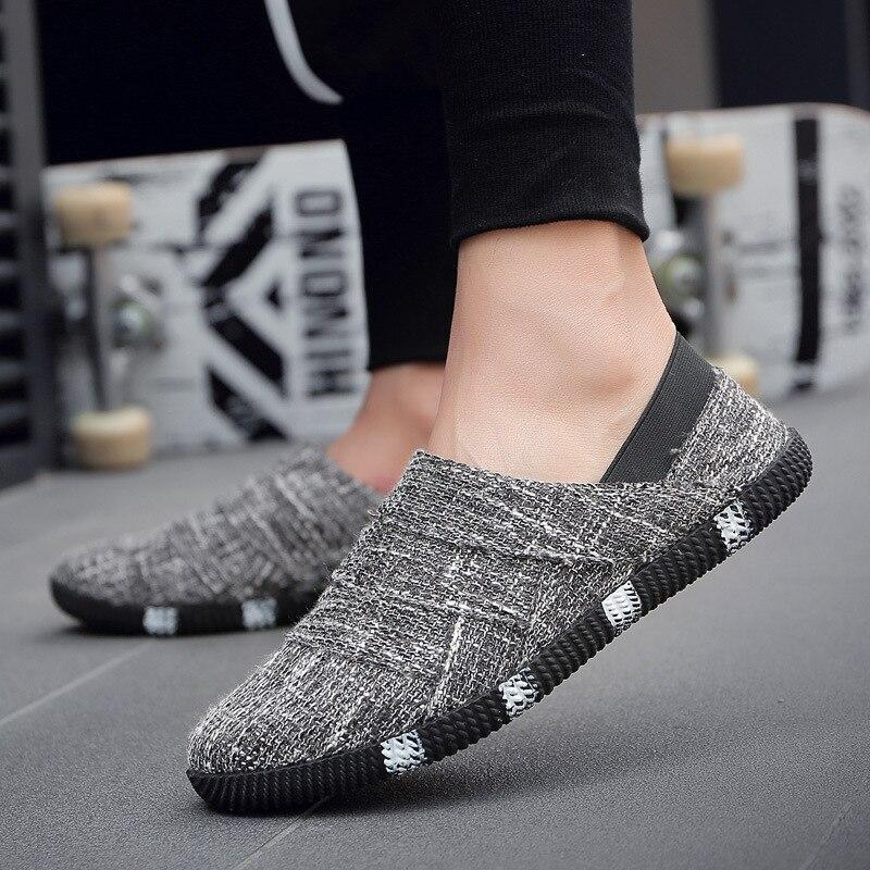 2018 nueva moda zapatos de lona Vulcaniz para hombre verano otoño cómodos Beanie Shoes hombres marca hombre zapato plano hecho a mano Sapatos Envío Gratis nuevo MR583930 para Mitsubishi LANCER Outlander MR-583930