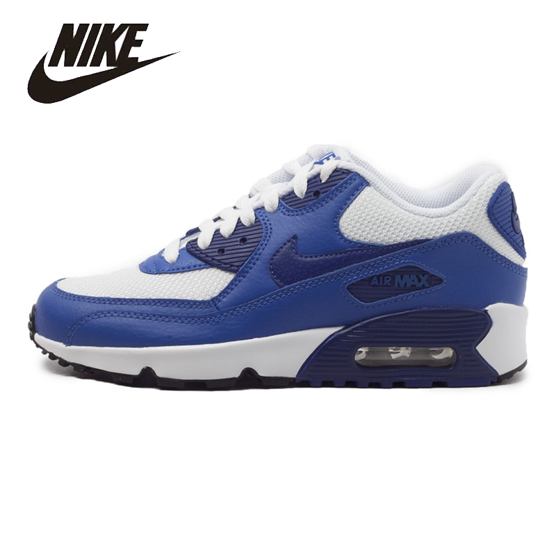 NIKE Original New Arrival AIR MAX 90 Womens Running Shoes Mesh Breathable  Footwear Super Light For Women#833418-105 nike air max 90 женские купить срочно