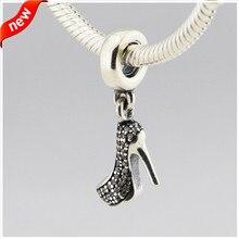 Se adapta a pandora pulseras de perlas para las mujeres de plata del estilete original 100% 925 plata esterlina encantos de la joyería diy al por mayor fl207