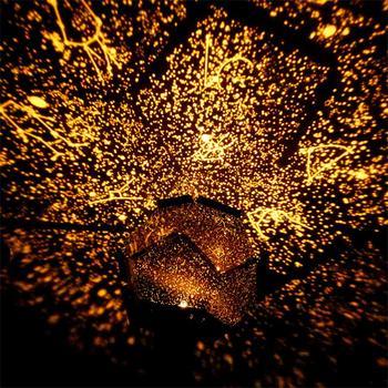 LED estrella maestro luz de noche LED proyector lámpara Astro Proyección de cielo Cosmos led luces quitamiedos lámpara chico regalo de casa decoración