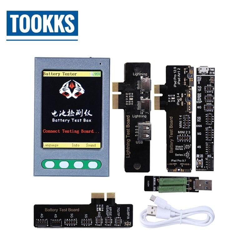 Batterie Testeur USB Testeur de Câble Apple Batterie Checker pour l'iphone X 8 8 p 7 7 p 6 s 6 6 p 5 5S 4 Données Câble Testeur