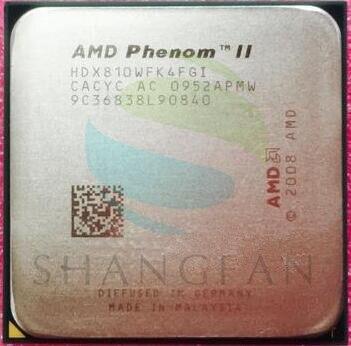 AMD Phenom II X4 810 X4-810 Quad-Core De Bureau CPU HDX810WFK4FGI Socket AM3