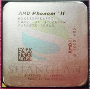 Free shipping for  Phenom II X4 810  Quad-Core DeskTop CPU HDX810WFK4FGI Socket AM3