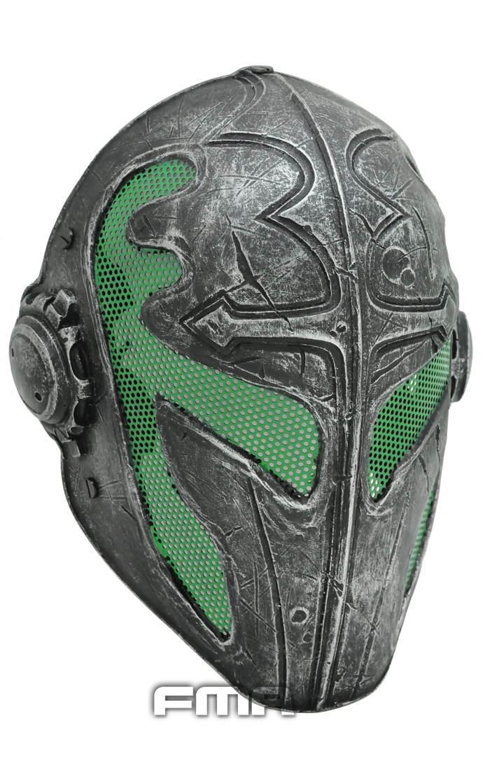 Outdoor Green Paintball Airsoft Wire Mesh Full Face Protection Templar Mask Cosplay wargame gear helmet Free Shipping outdoor green paintball airsoft wire mesh full face protection templar mask cosplay wargame gear helmet free shipping