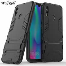 Cover Huawei P Smart 2019 Case P Smart 2019 Silicone Rubber Robot Armor Hard PC Back Phone Case For Huawei P Smart 2019 Case