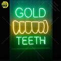 Неоновые световые знаки хорошие зубы неоновая лампа знак лампа ручной работы магазин домашний дисплей Пользовательский логотип неоновый ...