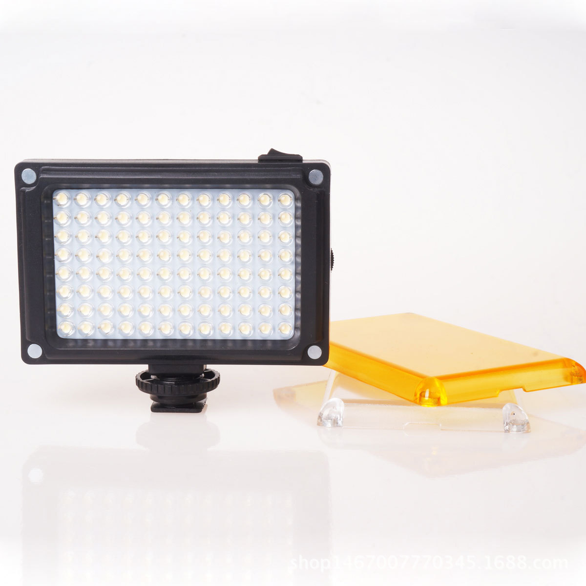 by dhl 50pcs Flashing LED Studio LightS Good Quality Dimmer Bi color Profession LED Photo Studio