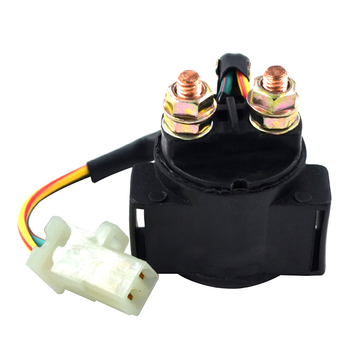 Motorcycle Electrical Starter Solenoid Relay Switch For Honda 125 TRX125 TRX200 TRX250 TRX300 FOURTRAX VF750 VF 750 MAGNA V45 image