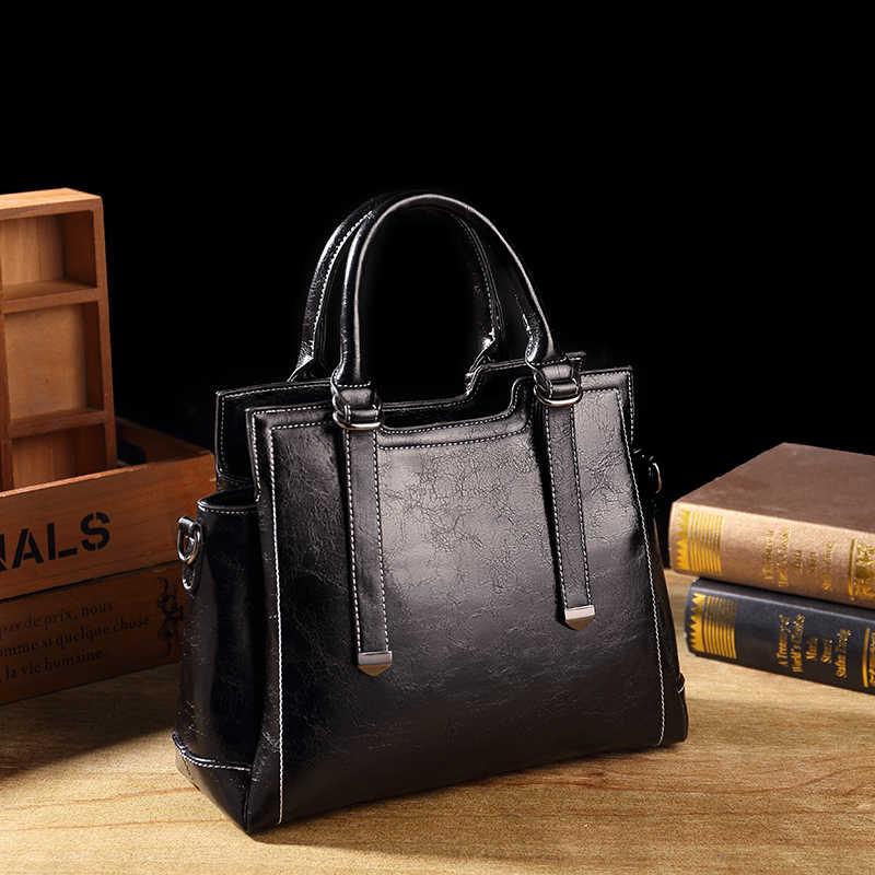 本革バッグレディースハンドバッグの高級有名なブランドのデザイナー本革の女性のハンドバッグトートレディースヴィンテージ女性T63