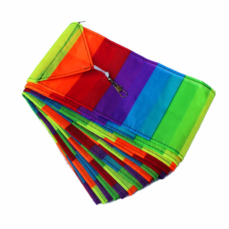 Outdoor Fun Sports Accessories 10m Kite Tail For Delta kite/Stunt /software kites Kids Gif
