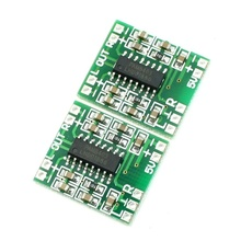 цена на Super Mini PAM8403 2*3W D Class Digital Amplifier Board 2.5-5V USB Power Green+Silver