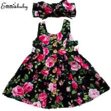 2019 Autumn Long Sleeve Girls Dress Baby Girl Clothes Button