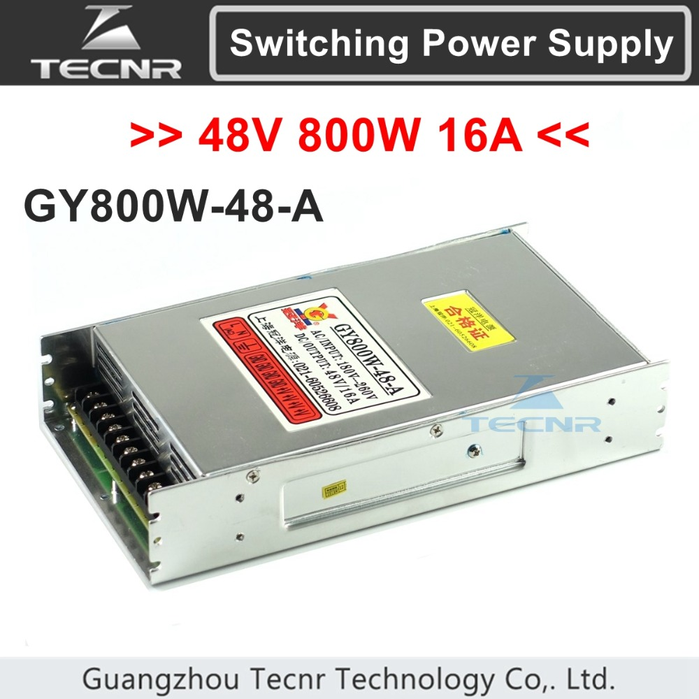 48V 800W cnc router switching power supply ajustable 16A for cnc machine GY800W 48 A