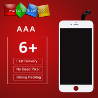 5Pcs Lot Lcd For Iphone 6 Plus Lcd Display 100 Tested No Dead Pixel Screen Replacement
