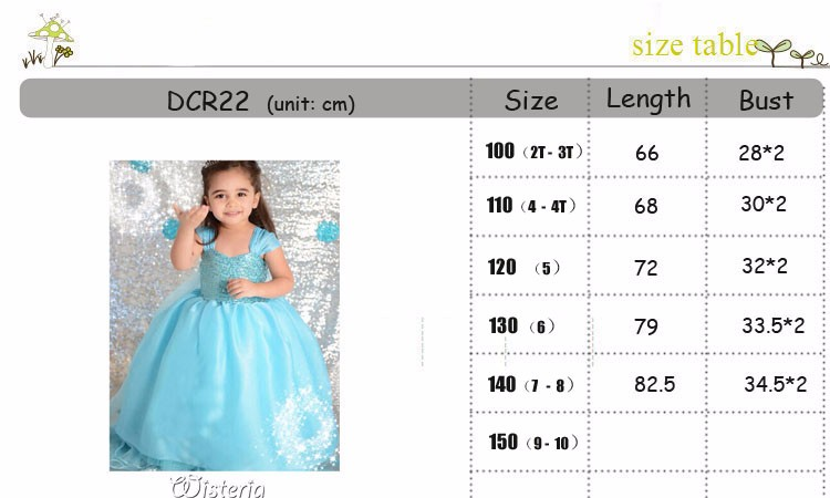 DCR22 SIZE