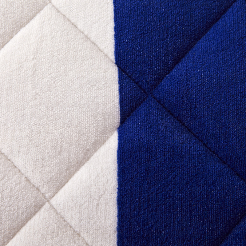 Union Jack Thick Warm Foldable Single Or Double Mattress Fashion NEW Topper Quilted Bed Hotel