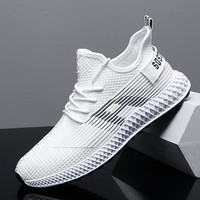 2019 New Men Sneakers Breathable Casual No slip Men Vulcanize Shoes Male Air Mesh Lace Up Comfortable Shoes Tenis Masculino