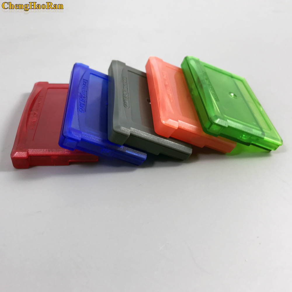 Image 4 - ChengHaoRan 5 цветов доступны 1 шт Для nintendo GBA, GBA SP, GBM, NDS игры кассета основа коробка для карточных игр держатель для карт-in Сменные детали и аксессуары from Бытовая электроника