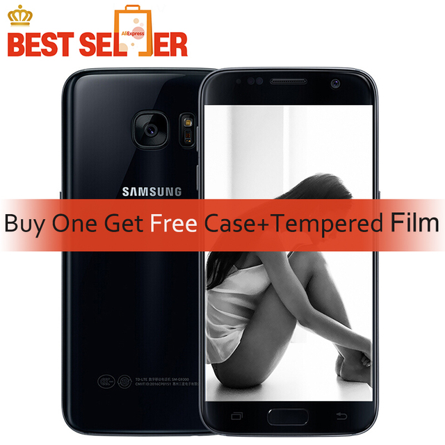 Refurbished Samsung Galaxy S7 Cellphones G930 G930A 51inch Quad Core GPS NFC 12MP 4G LTE