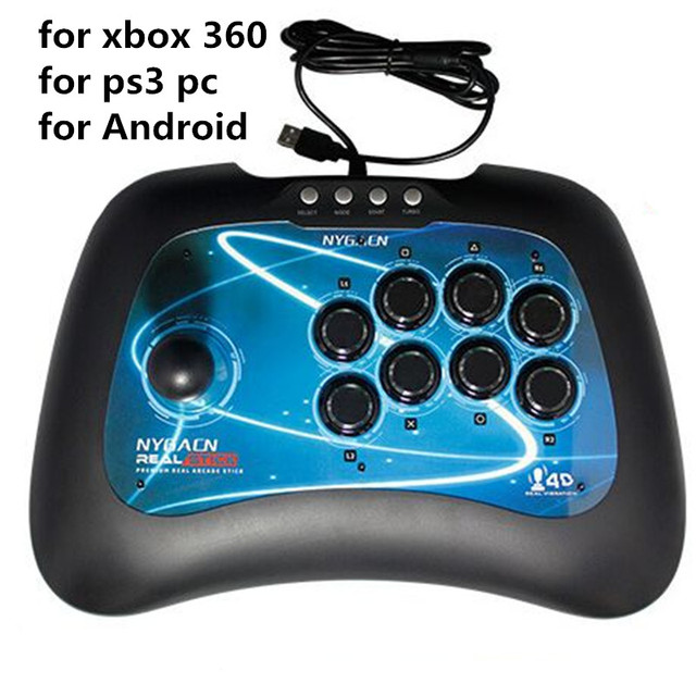 USB Game Joystick for PC xbox 360 PS3/PlayStation 3 Android wired ...