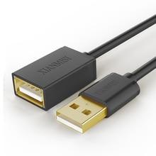 XIANMISI USB 2.0 от Мужчины к Женщине USB Кабель Расширение Удлинитель Удлинитель Для Портативных ПК