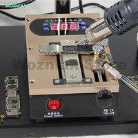 Возняк 2in1 мобильный телефон крышки кронштейн сепаратор интеллектуальные Отопление платформа разобрать A8 A9 Процессор чип клей удаления