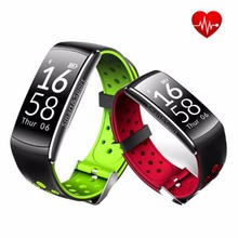 Q8 Smart Bracelet Bluetooth 4.0 IP68 Étanche Moniteur de Fréquence Cardiaque Appel/Message Rappel Intelligent Bracelet pour Android iOS Téléphone