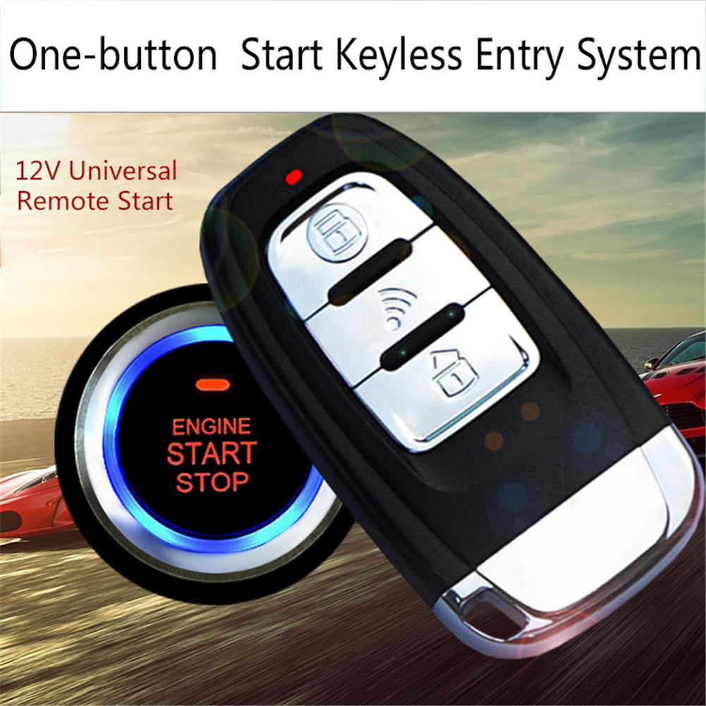 Car Comfortable Keyless Entry One Button Start Remote Control System|Starter Parts| |  - title=