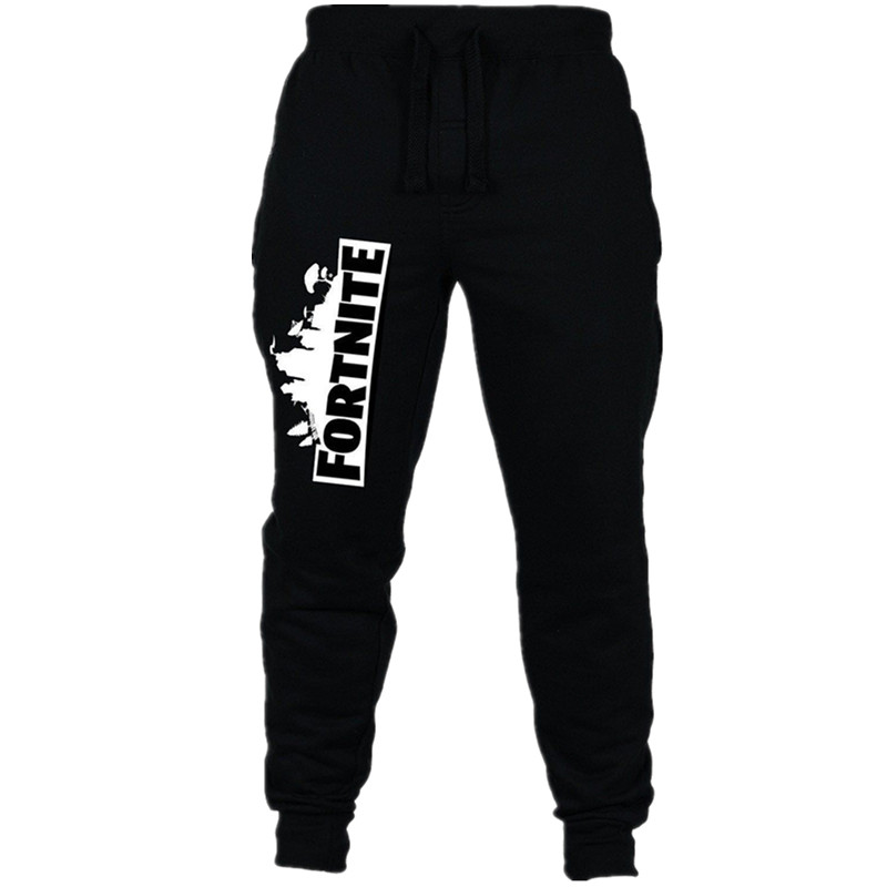 New Fortnite Sweatpants for Boys Cotton Fortnite Letter Drawstring Long Pants Boys Clothes Leggings Gaming Kids Pants 6-10Y