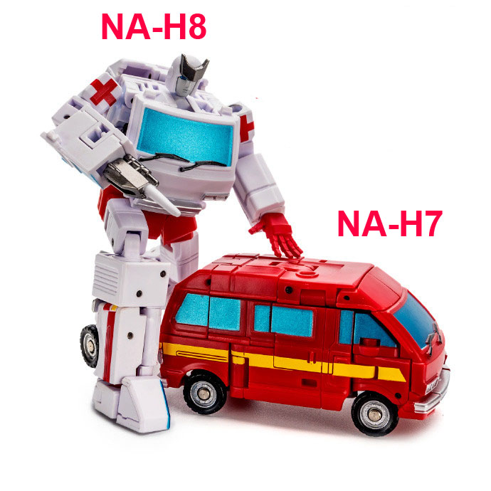 Newage NA Transformation H8 Ratchet H7 Ironhide G1 Mini Pocket War Action Figure Robot Toys