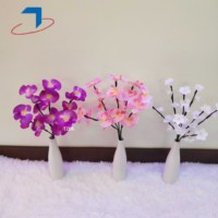 plum blossom moth orchid Flower Fairy lights Battery string lights for Wedding party decoration bedroom valentines home decor