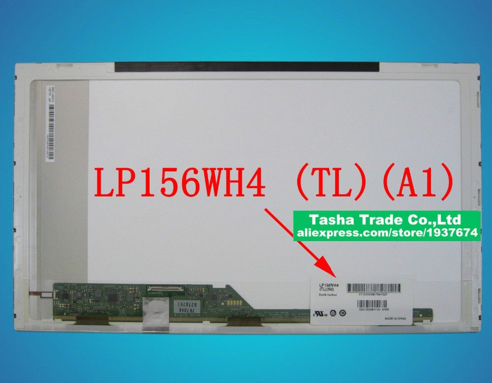 PC Parts Unlimited NT156WHM-N42 BOE 15.6 Slim WLED Backlight 1366 x 768 WXGA Matte 30 Pin eDP