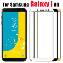protective glass on the for samsung j8 2018 on for samsung galaxy j6 2018 glass j4 j2 2018 tempered screen film glas protection protective glass red line for samsung galaxy j2 2018