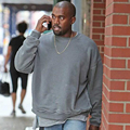 Kanye West Sweatshirt OVERSIZE Autumn Winter Streetwear Solid Fashion Yeezys Hoodies