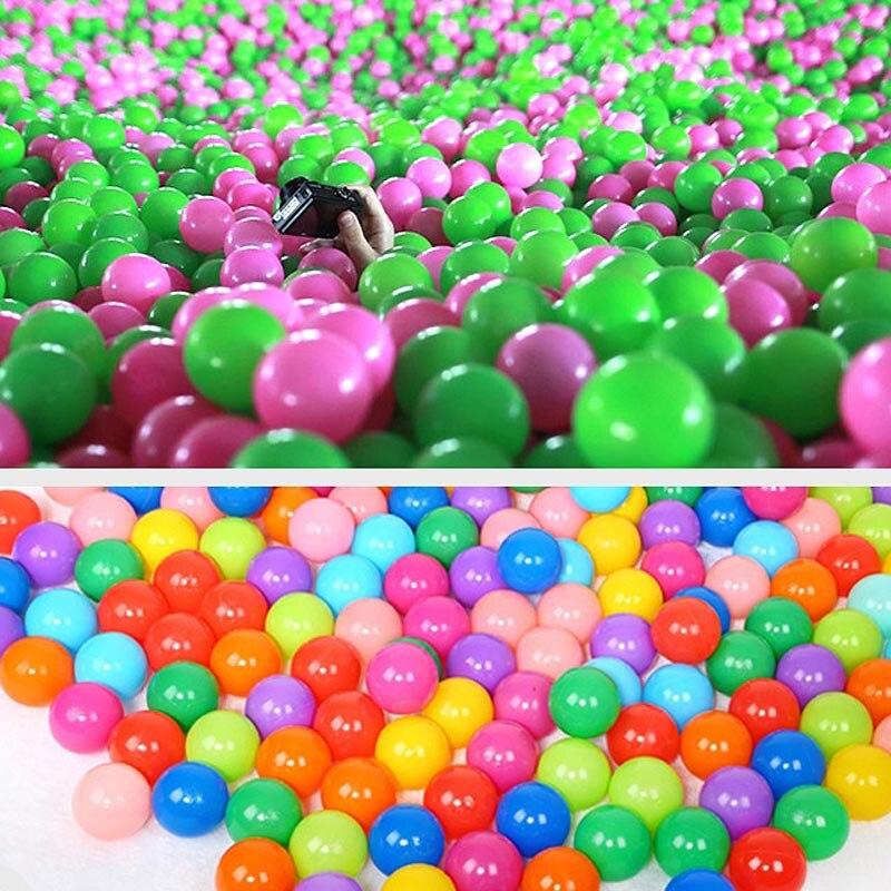 Bolas de Brinquedo plástico bebé criança swim pit Material : Plástico