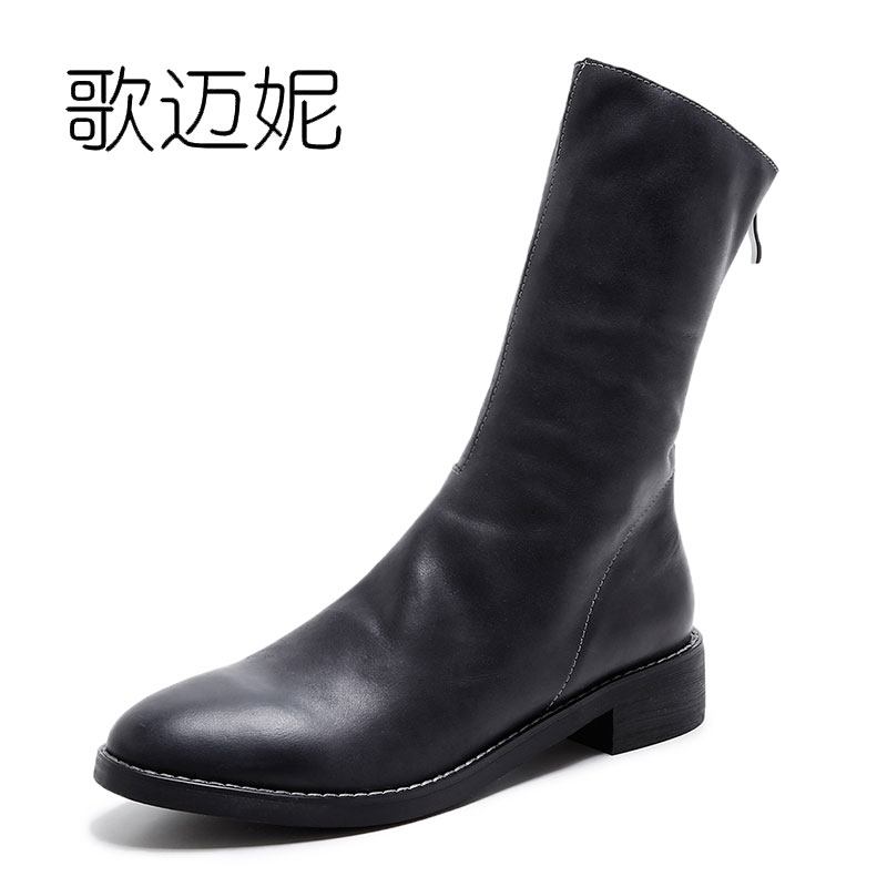 womens winter leather ankle boots women boot bota feminina botas mujer botines mujer 2017 laarzen ladies punk boots bottes ladies embroidered boots womens ankle boots for women winter boots black boot botas mujer bottine botte femme laarzen botines