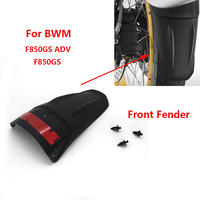 For BMW F850GS F850 GS F 850GS ADV Adventure 2018 2019 Mudflap ABS Motorcycle Front Fender Mudguard Fender Extender Extension