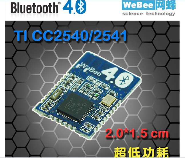 Freeshipping Bluetooth 4.0 / CC2540 modules 100 meters ibeacon 7mbr35ua120 50 power modules igbt freeshipping