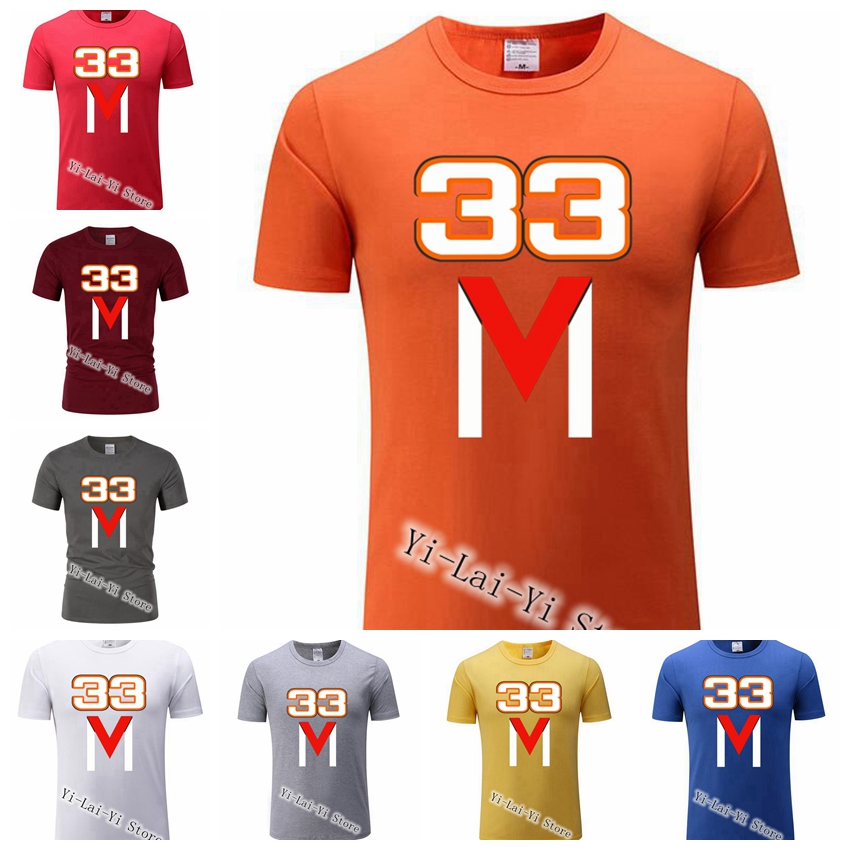 2019 Cool M33 Summer Men's  T-shirt Men Green Oversize T Printed Max Verstappen T Shirts Adult Clothing M 33 T Shirt
