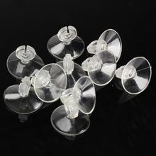 10 шт. 4/6 мм силиконовый аквариум присоской держатель присоски для аквариума насос авиакомпания трубки водные принадлежности