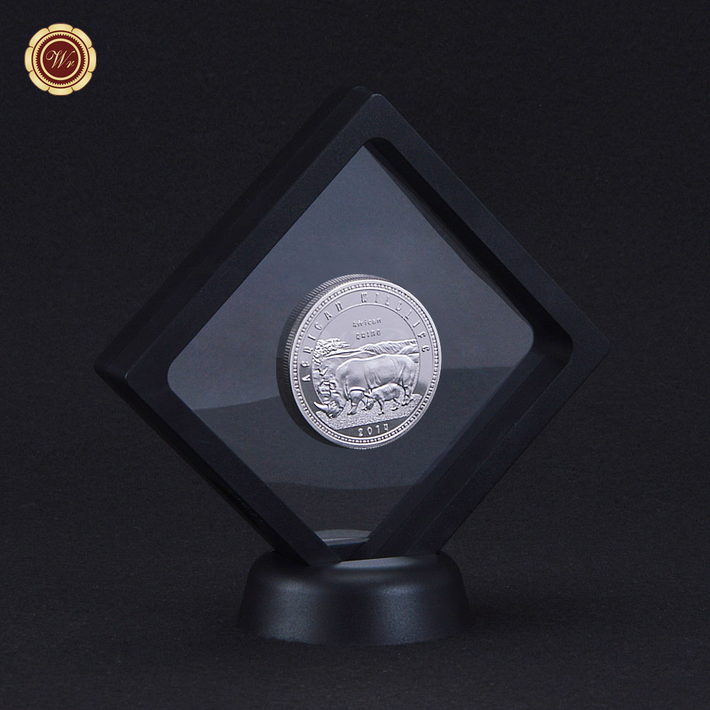 2014 Year Rare Silver Coin African Wildlife 1 Troy Oz. 999 Fine 1000 ...