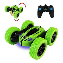 Stunt Rc Car, Remote Control 360 Degree Flips Double Sided Rotating Race High Speed Flashing Controlled